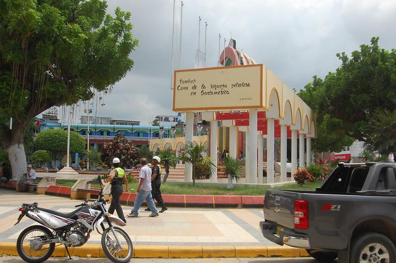 Plaza de Armas, Tumbes, Peru