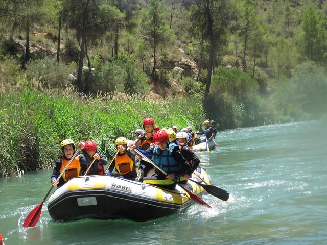 Hoces del Cabriel 2015-16 - Rafting