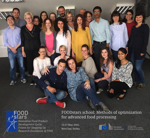 23-27 May 2016. SCHOOL: Methods of optimization for advanced food processing