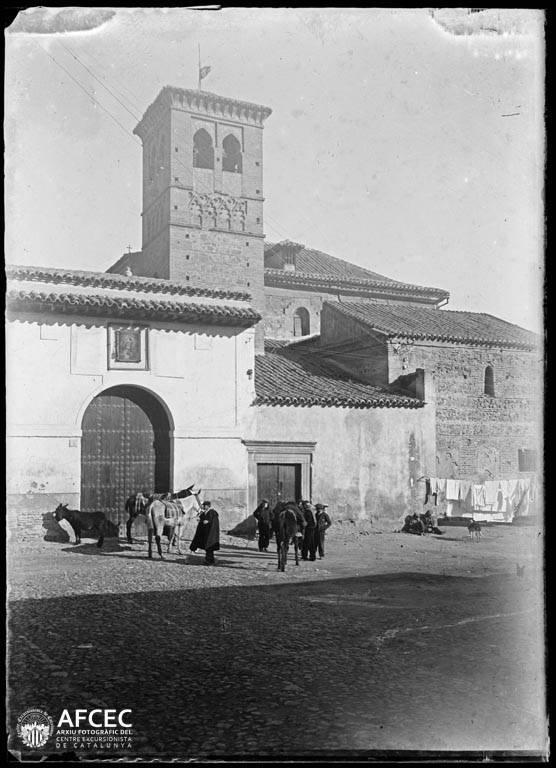 Convento de la Concepción Francisca en Toledo a comienzos del siglo XX. Autor Desconocido   © Centre Excursionista de Catalunya
