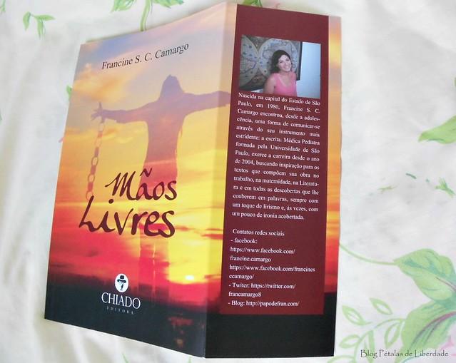 Resenha, livro, Mãos-Livres, Francine-S-C-Camargo, chiado, cronicas, trechos