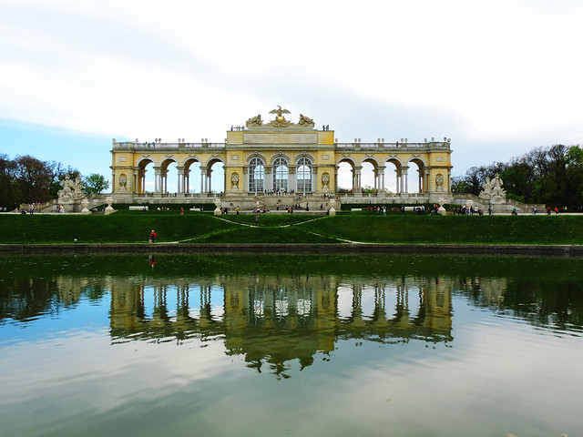 Gloriette of Schonbrunn Palace, Vienna, Austria