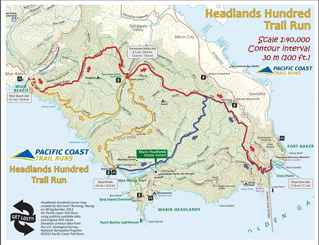 Headlands 25/50/75/100