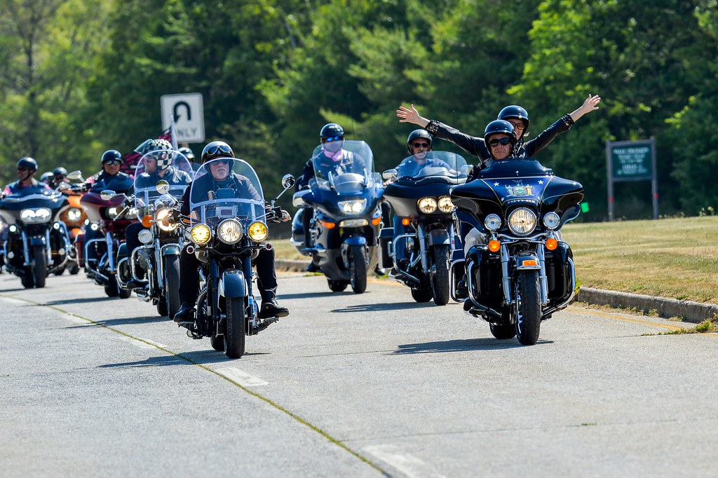 Governor Cuomo Kicks-Off Breast Cancer Motorcycle Ride at Sunken Meadow State Park