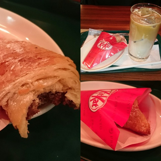 Kit Kat Croissant in Pronto, Kyoto
