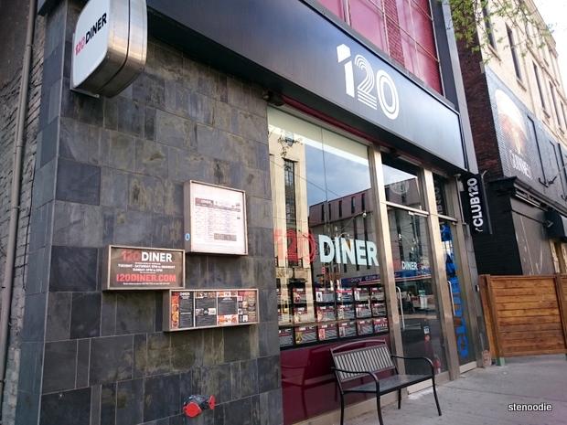 120 Diner exterior