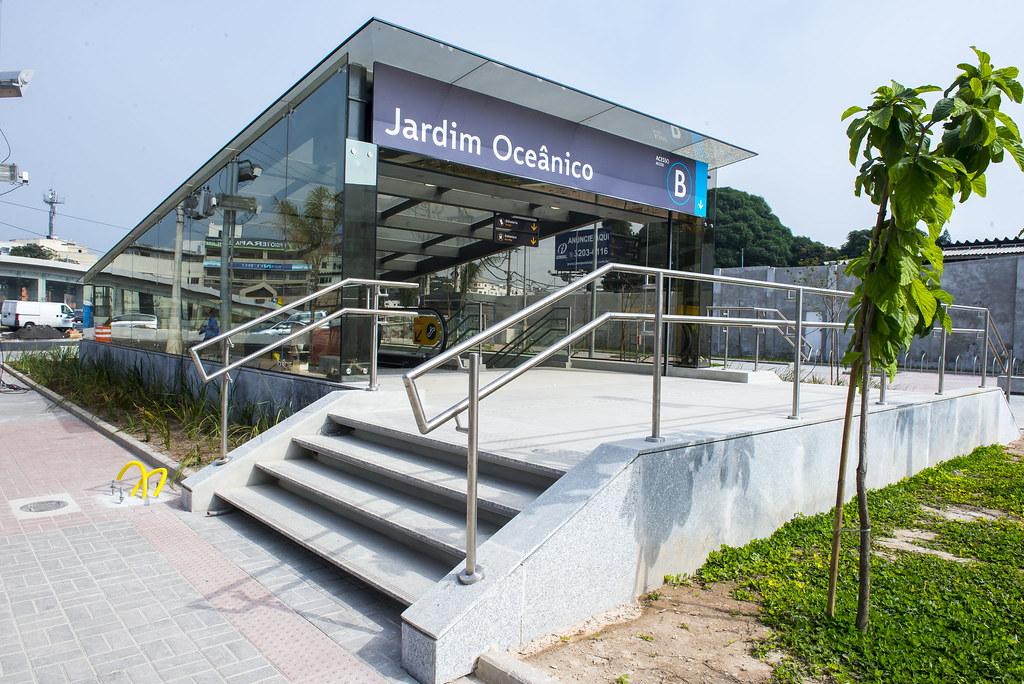Concluídas as obras na Estação Jardim Oceânico