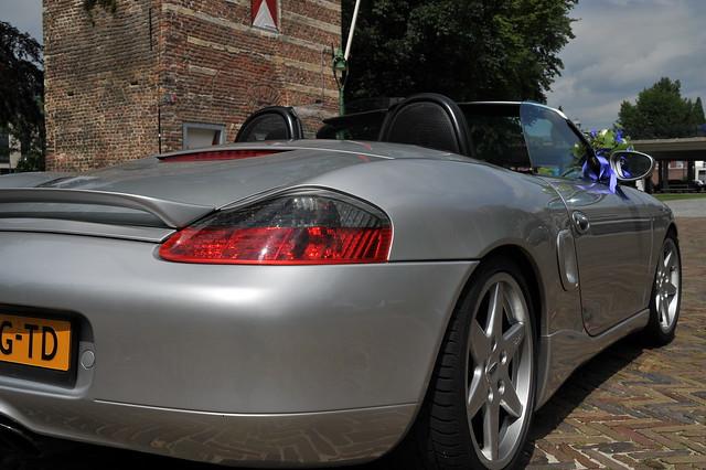 Trouwfoto's Porsche Boxster 02