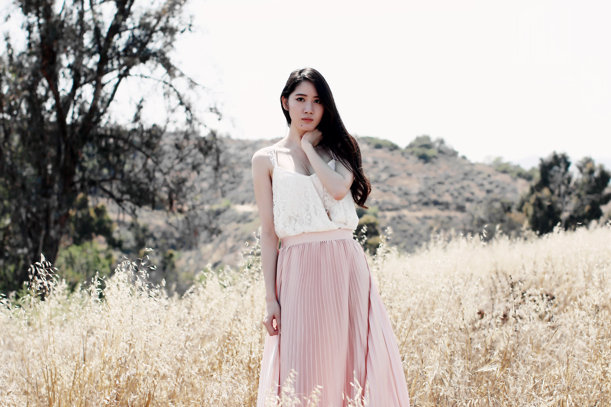9721-pink-maxi-skirt-summer-fashion