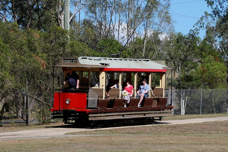 13372643935 e781d6af27 c Take a Ride on Any of the Trams at Brisbanes Tramway Museum
