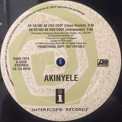 AKINYELE:AK HA HA!AK HOO HOO?(LABEL SIDE-A)