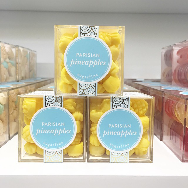 Parisian Pineapples from Sugarfina