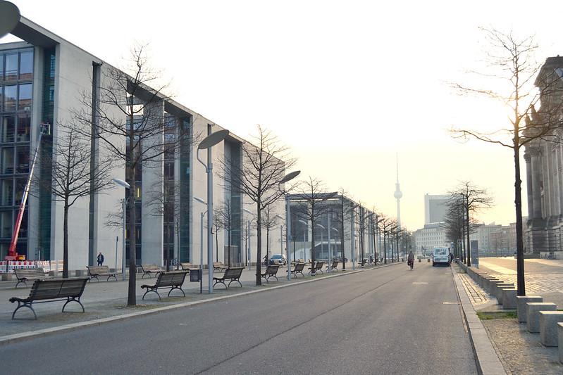 cerca del Parlamento Berlin