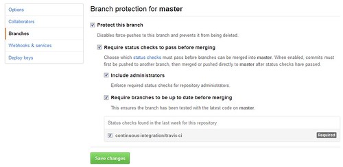 Branch Protection