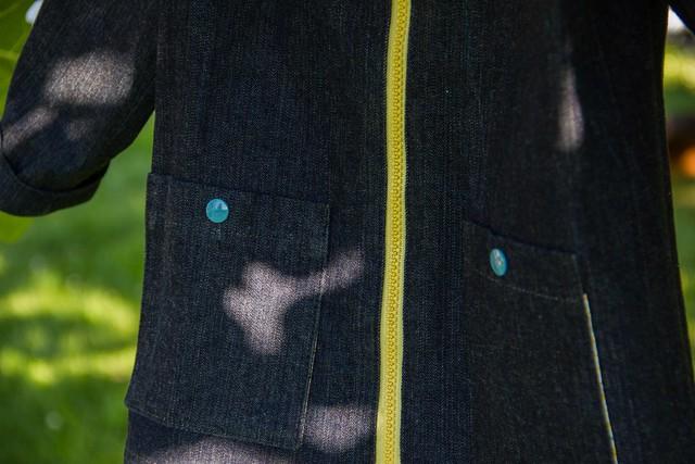 Blouson Robin - détail poches