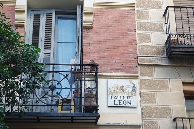 Calle del León