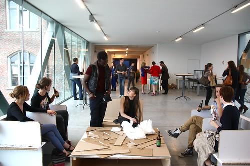 Afstudeertentoonstelling 2013 voor het feest luca for Interieur vormgeving
