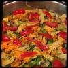 #ZucchiniBlossom #Mushroom #Potato Frittata  #Homemade #CucinaDelloZio -  add the cherry tomatoes