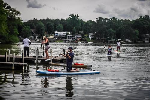 Kayaking and SUP on Saluda Lake-42