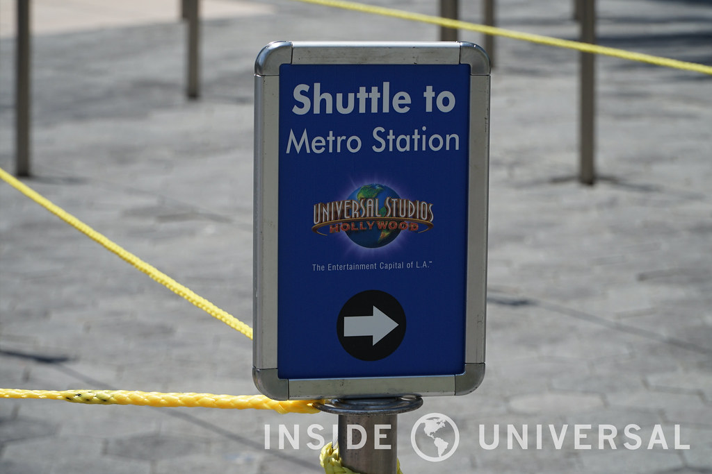 Phot Update: June 13, 2016 at Universal Studios Hollywood - Shuttle Tram
