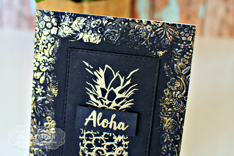Aloha closeup
