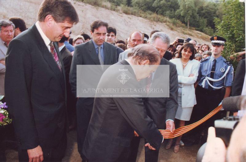 Inauguració camp municipal d'esports 12/06/1993