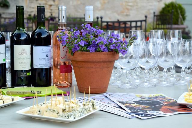 Wine & Cheese Tasting at Manoir de Malagorse | www.rachelphipps.com @rachelphipps