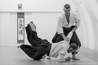 taking ukemi for Jorma Lyly sensei