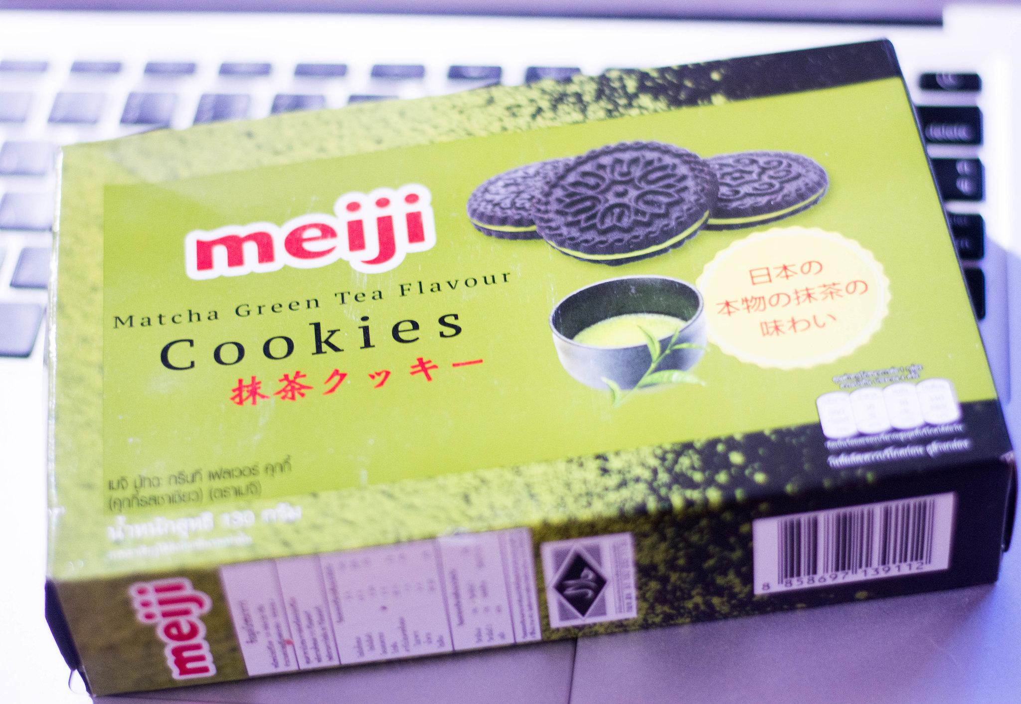 Meiji Matcha Green Tea Flavour