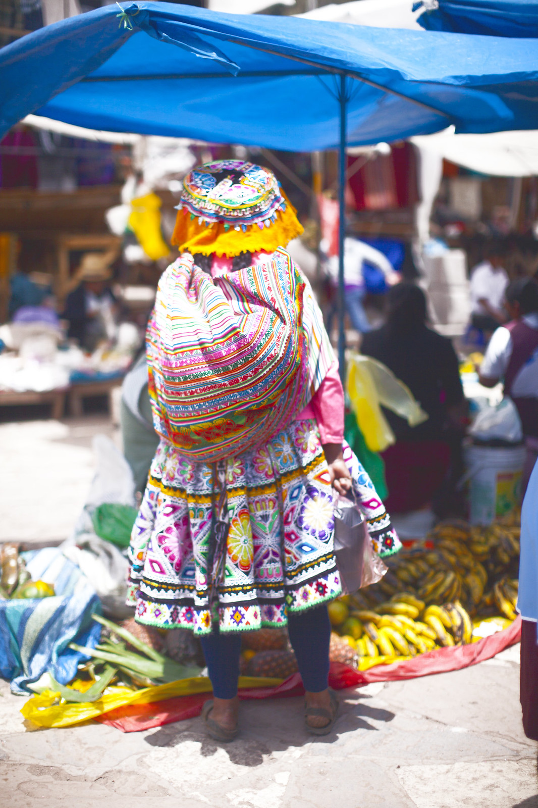traditional Peruvian market