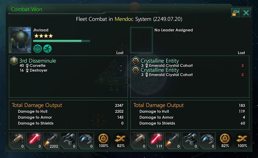 Stellaris Clarke combates