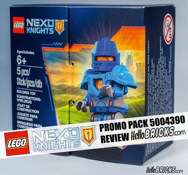 Hellobricks Cover LEGO 5004393 Nexo Knights