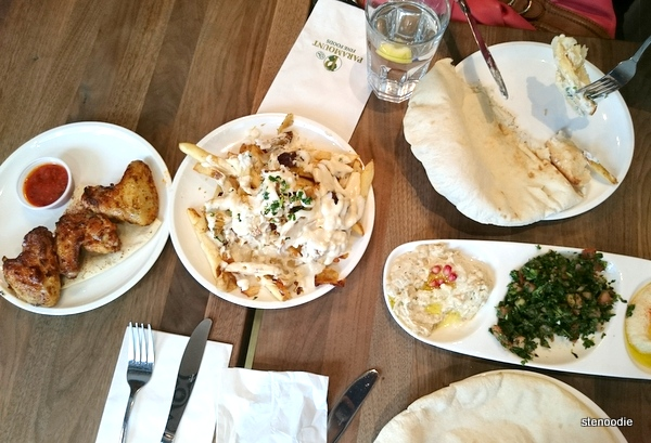 Food at Paramount Fine Foods Yorkville