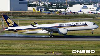 Singapore A350-941 msn 037