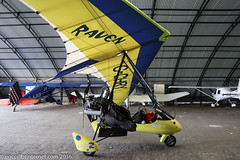 G-CHRY - 1999 build Medway Microlights Eclipser Raven, visiting Barton