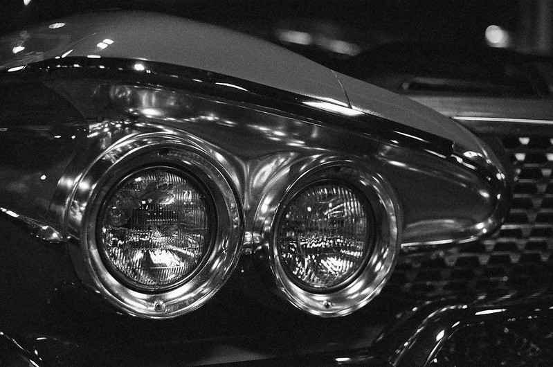 '61 Plymouth headlights