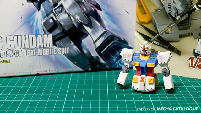 """1/144 RX-78-2 Gundam """"Ver.Ka"""" - Work in Progress #1"""