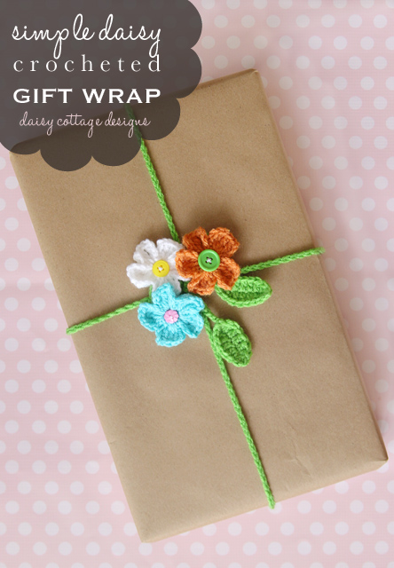 Crochet gift wrapping ideas that are sure to wow your friends at that next birthday party or bridal shower.