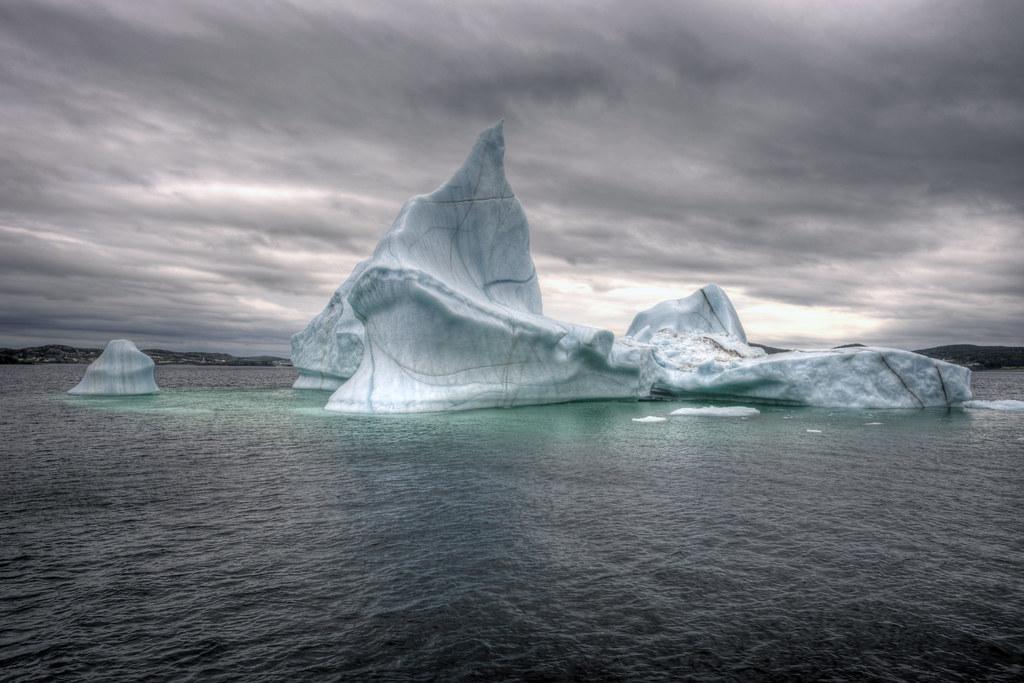 Twillingate Iceberg - HDR
