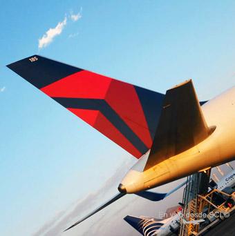 Delta Air Lines B767 tail (R.Vildósola)