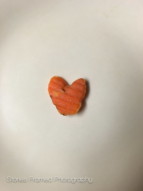 281. | heart of orange.