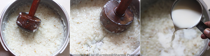 How to make Garlic Milk Porridge Recipe - Step2