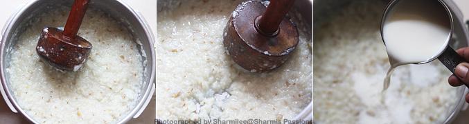 How to make Garlic Milk Porridge Recipe - Step2