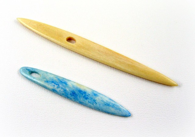 Hand Carved Nalbinding Needles