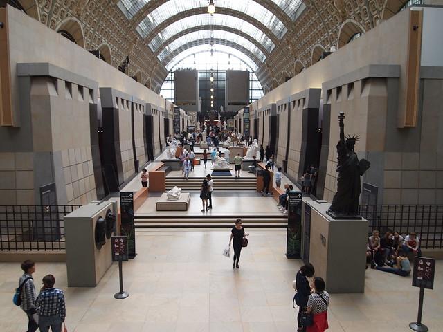 P5281858 Musée d'Orsay オルセー美術館 paris france パリ フランス