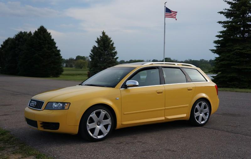 Fourtitude Com 2004 Audi S4 Avant Imola Yellow 6mt