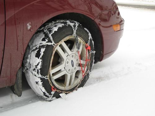 Snow Car Chains Rent