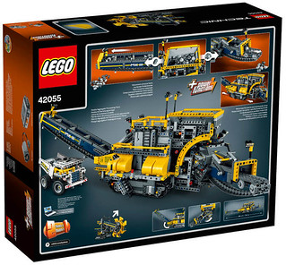 LEGO Technic 42055 back