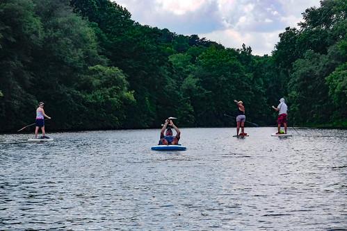 Kayaking and SUP on Saluda Lake-15