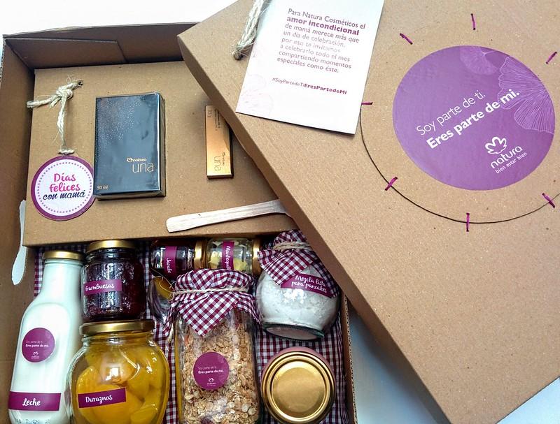 Caja de desayuno de Natura para Mamás #JFashionblog